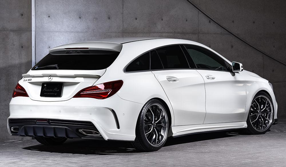 Mercedes Benz CLA 180 Shooting Brake AMGスタイル PrussianBlueエアロドレスアップ新車 Rear