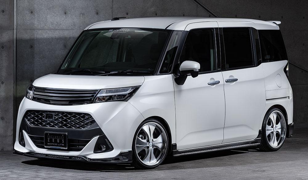 TOYOTA TANK GRACE LINEゼウス エアロドレスアップ新車 改良後 Front