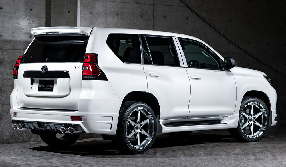 TOYOTA ランドクルーザープラド MC後 LUV LINEゼウス エアロドレスアップ新車 Rear