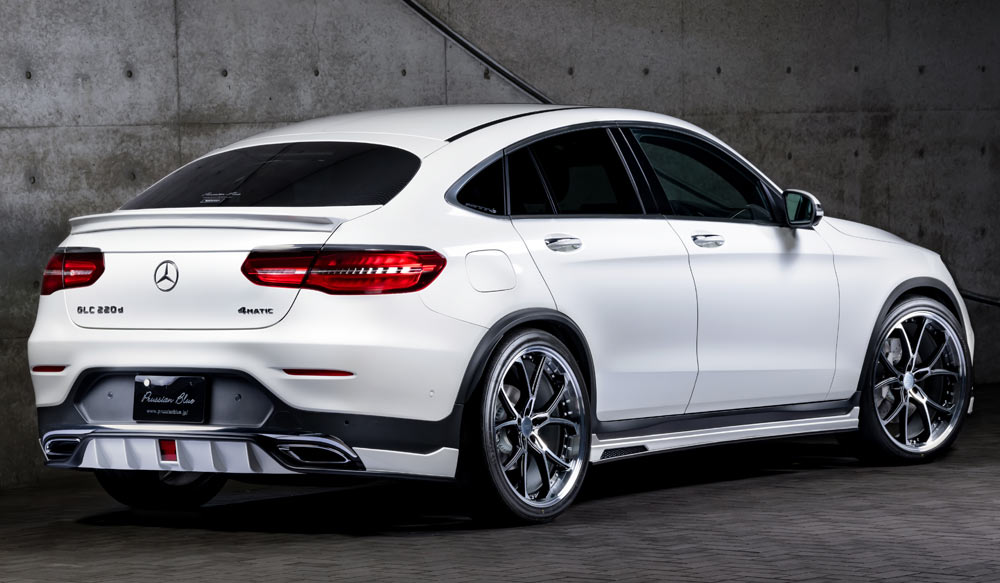 Mercedes Benz GLC 200 Coupe Sports PrussianBlueゼウス エアロドレスアップ新車 Rear