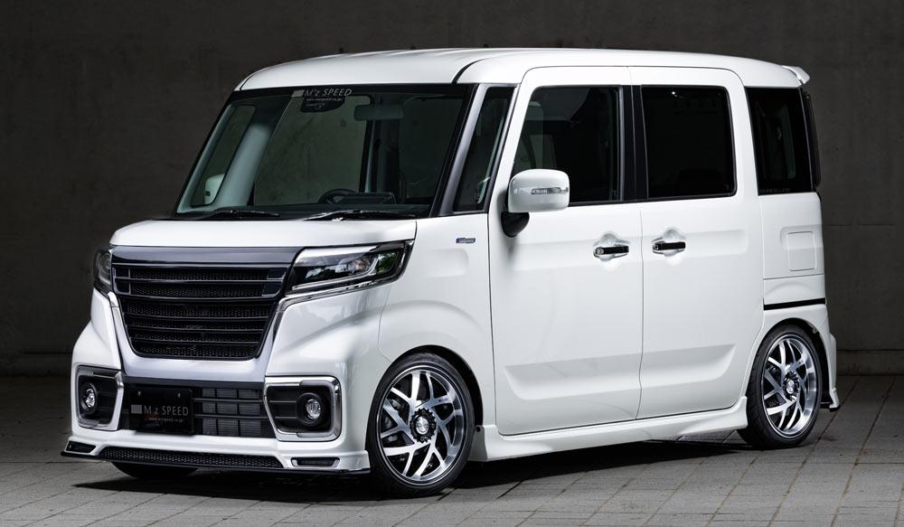 SUZUKI Spacia Custom GRACE LINEドレスアップ新車 Front