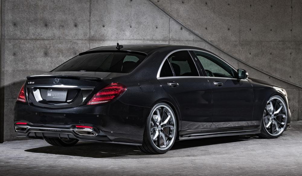 Mercedes Benz S 400 d AMG スタイル PrussianBlueゼウス エアロドレスアップ新車 Rear