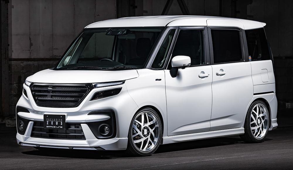 SUZUKI SOLIO BANDIT GRACE LINEゼウス エアロドレスアップ新車 Front