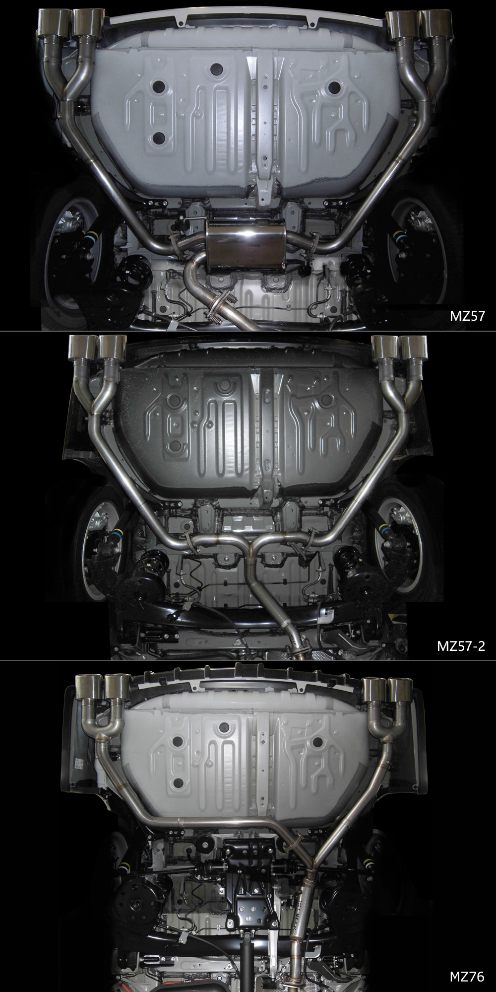 Exhaust System<br>左右4本出し