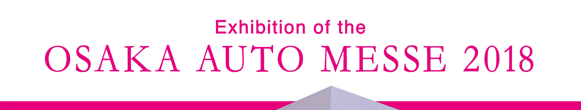 Exhibition of the OSAKA AUTO MESSE 2018 M'z SPEED