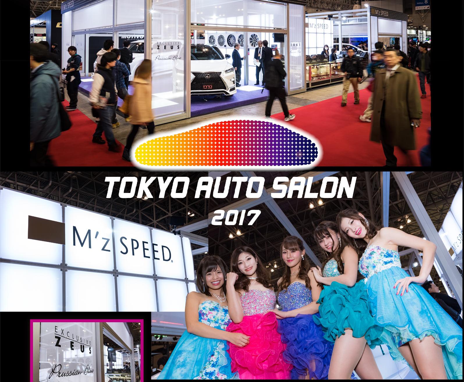 M 39 z speed event tokyo auto salon 2017 for Salon auto avignon 2017