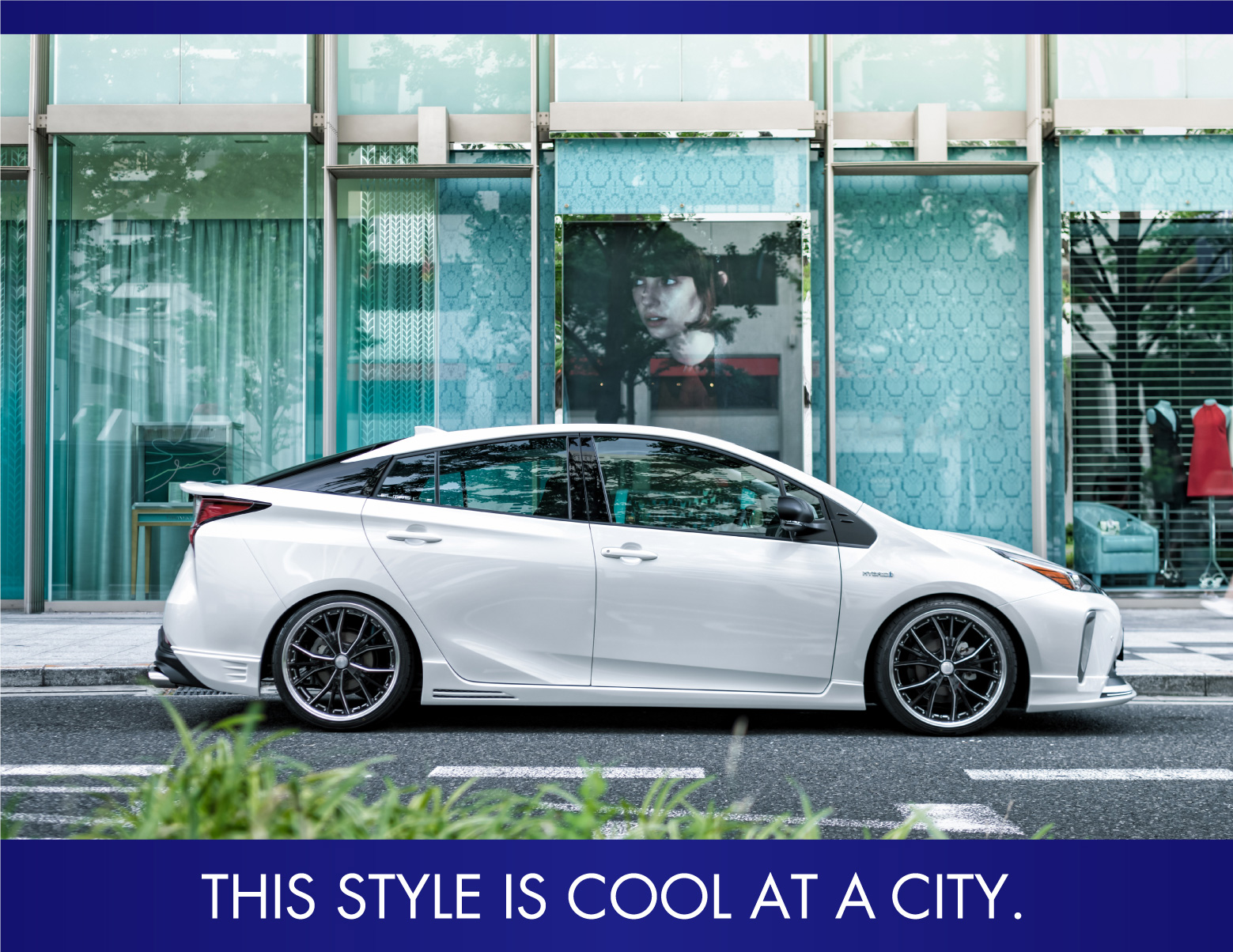THIS STYLE IS COOL AT A CITY.