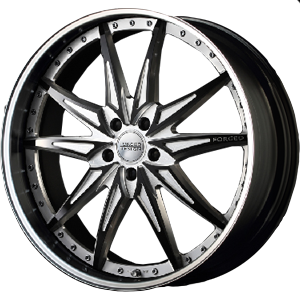 FORGED DESIGN 773 BLACK ALUMITE