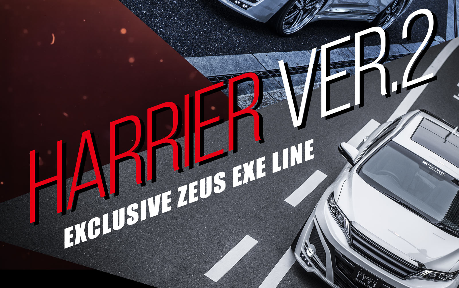 HARRIER Ver.2 EXCLUSIVE ZEUS EXE LINE