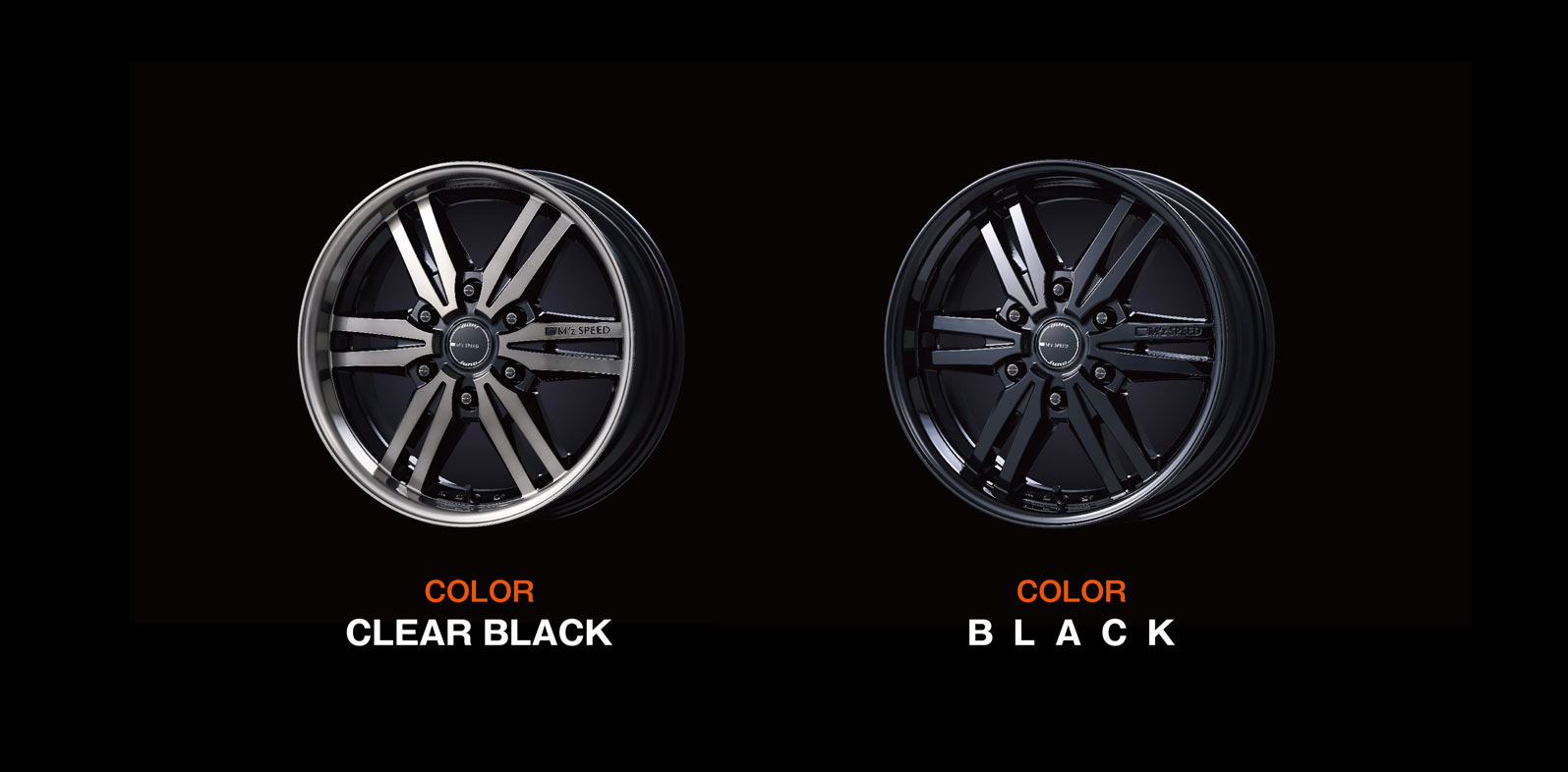 COLOR CLEAR BLACK / COLOR BLACK