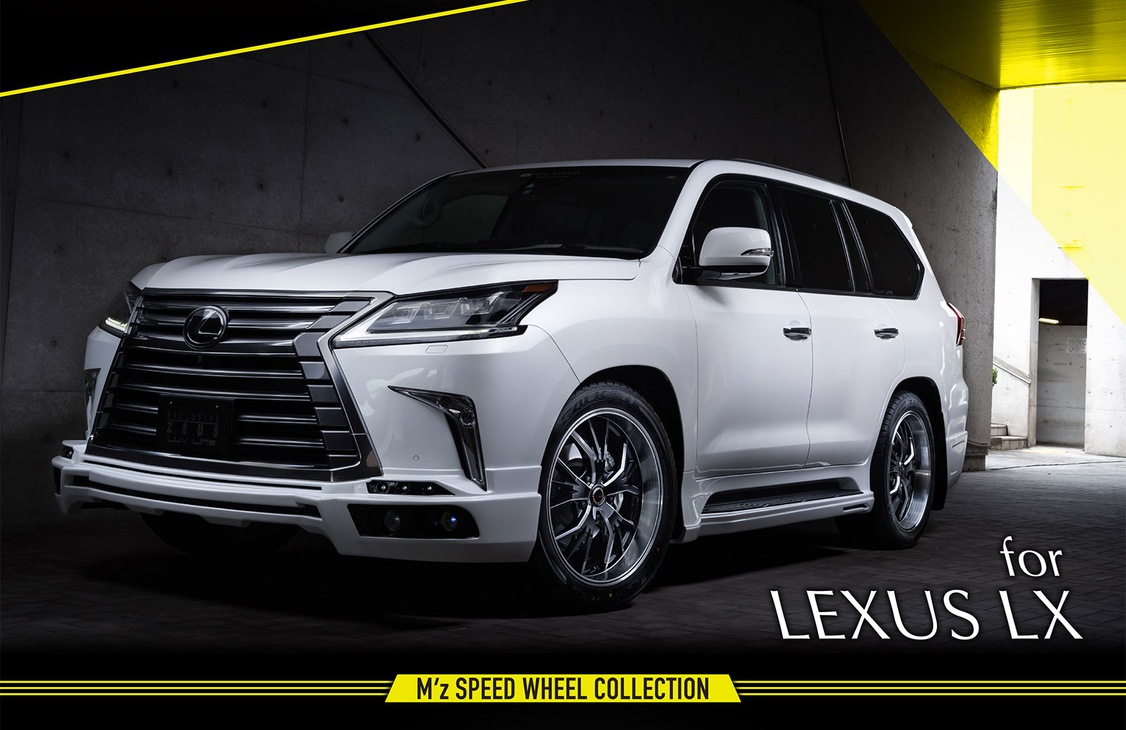 for LEXUS LX M'z SPEED WHEEL COLLECTION