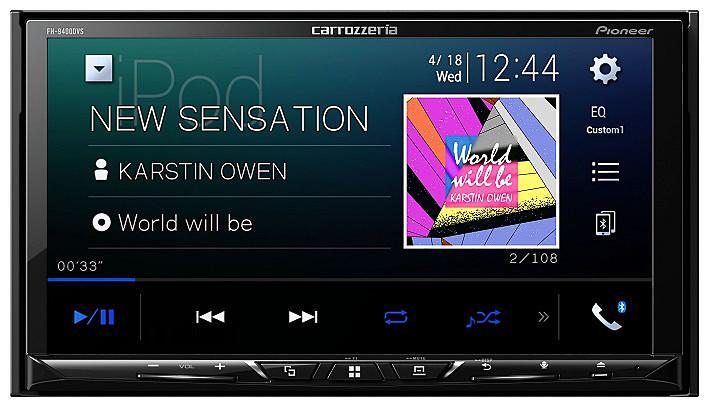 カロッツェリア 7インチカーオーディオ(AppleCarPlay対応) [FH-9400DVS]