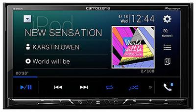 カロッツェリア 7インチカーオーディオパッケージ(AppleCarPlay対応)