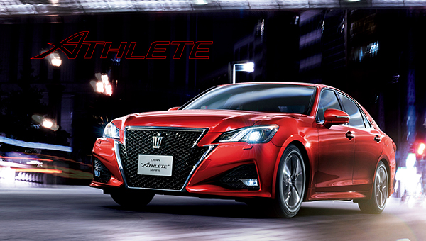 TOYOTA CROWN『ATHLETE HV グレード』