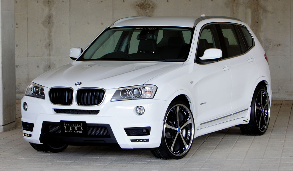 <strong>BMW X3<br></strong><span>X3 xDrive20i(DBA-WX20)<br>X3 xDrive20d BluePerformance(LDA-WY20)<br>X3 xDrive28i(DBA-WX20)<br>X3 xDrive35i(DBA-WX35)<br> (M Sportパッケジ付き車除く)</span></strong>