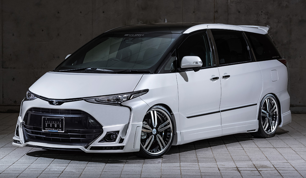 M Z Speed Zeus Body Kit Toyota エスティマ
