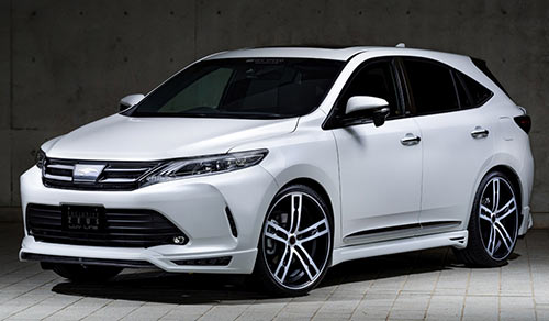 TOYOTA HARRIER<br>LUV LINE