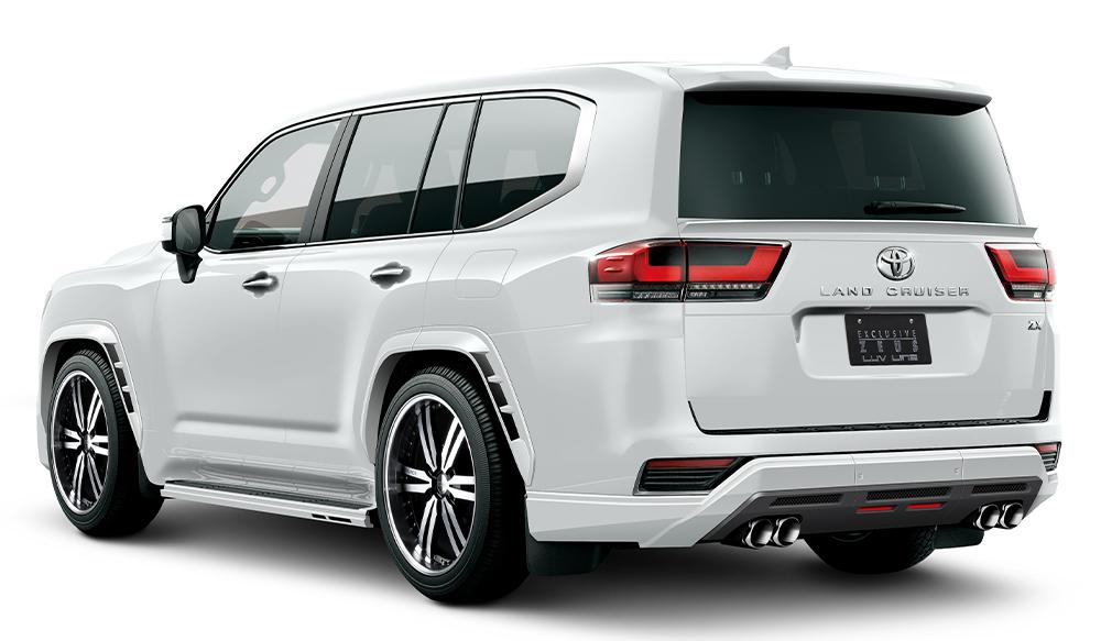TOYOTA ランドクルーザー300 LUV LINEゼウス エアロドレスアップ新車 Rear