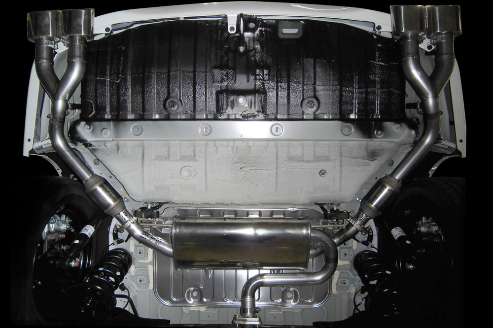 Exhaust System 左右4本出し<br>ABSOLUTE(G AERO PACKAGE除く)