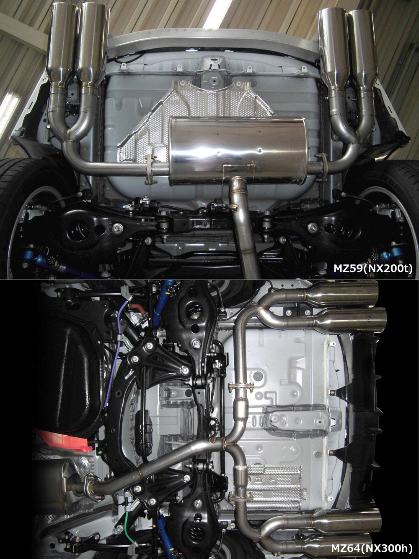 Exhaust System左右4本出し(MZ64)