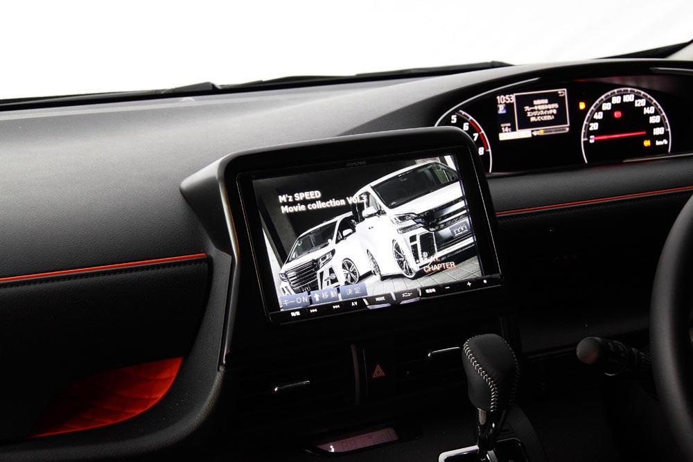 M Z Speed エムズスピードオフィシャルオンラインストア Face Panel Kit Sienta専用