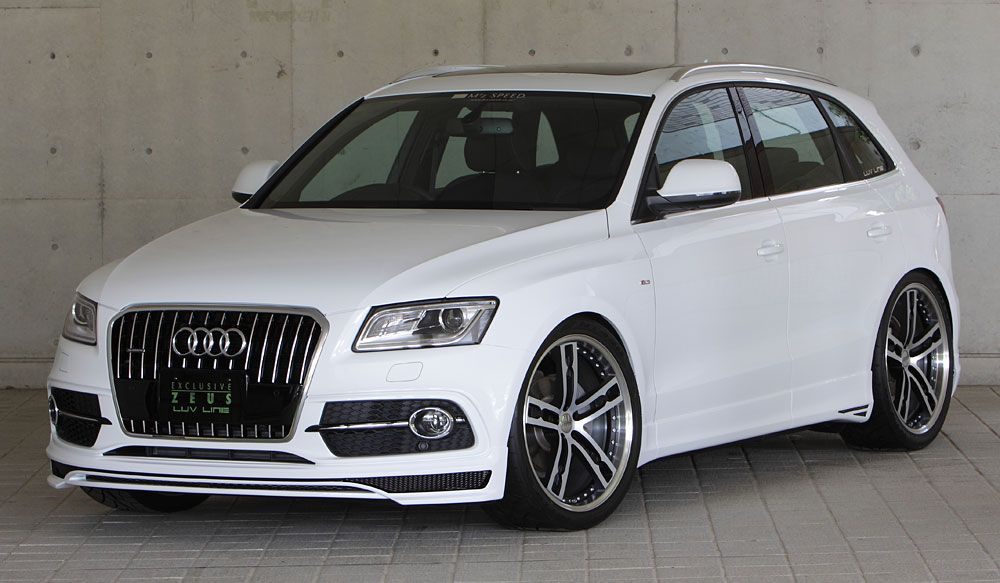 M Z Speed Bodykit アウディ Q5 Audi Q52 0 Tfsi Quattro S